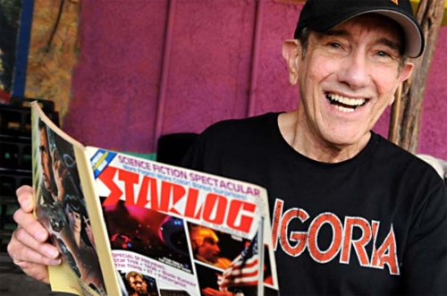 Kerry O'Quinn, co-creator and publisher of STARLOG  and  FANGORIA