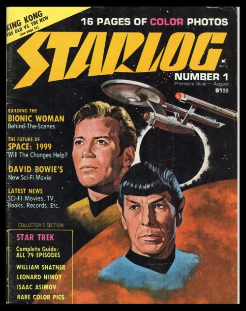 Starlog, Issue One, August 1976