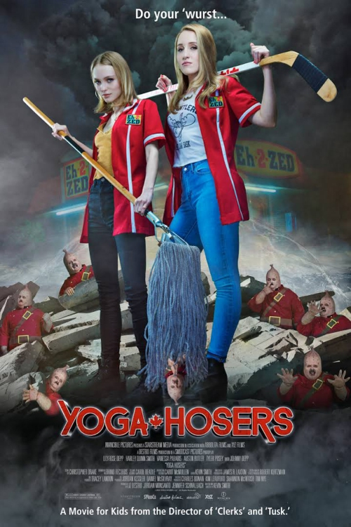 """Yoga Hosers"" by Kevin Smith"