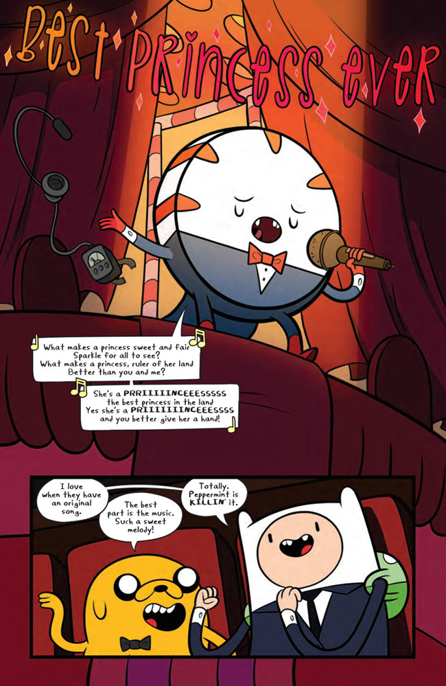 Adventure time comics grinder mariko tamaki and ian mcginty boom studios voltagebd Images