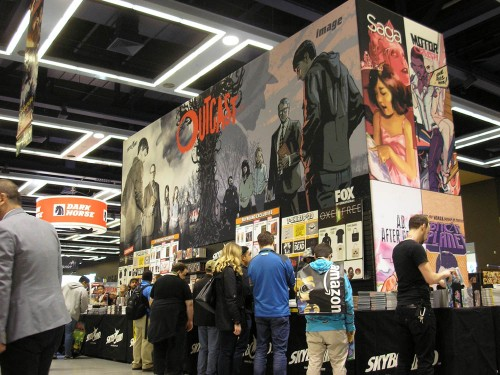 Image Comics/Skybound Entertainment at Emerald City Comicon 2017