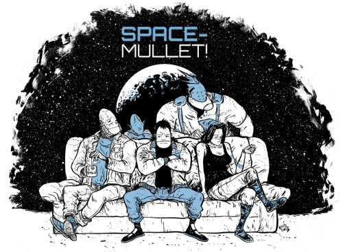 Daniel Warren Johnson's SPACE-MULLET