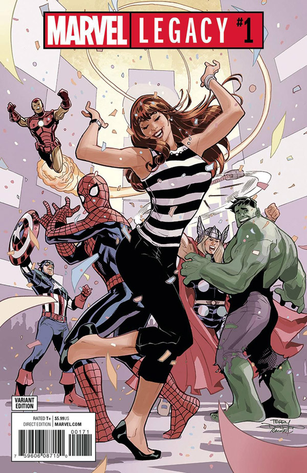 47b27d42ad146f Marvel Legacy  1 ranks at the very top as the best-selling comic book of  2017.