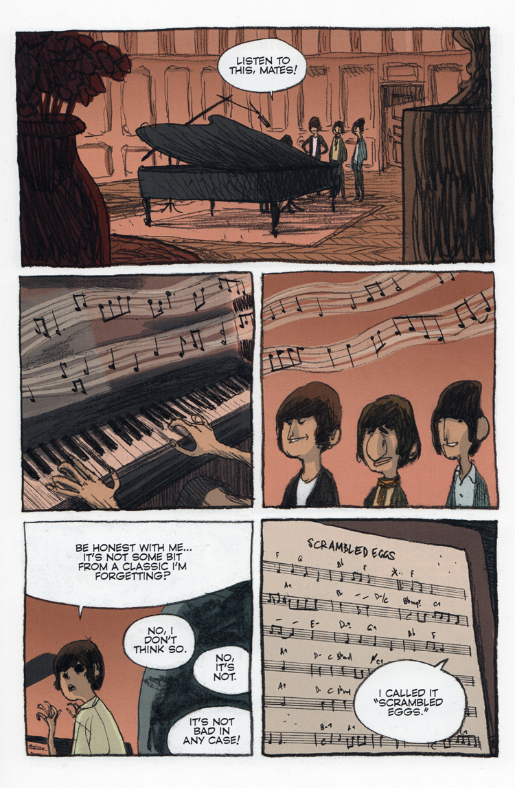 Review: THE BEATLES IN COMICS, published by NBM Graphic